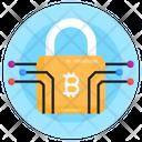 Encryption Cryptography Bitcoin Protection Icon