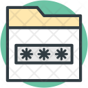 Cryptography Data Security Icon