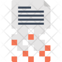 Cryptography Data Document Icon