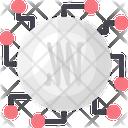 Cryptonote Crypto Coin Icon