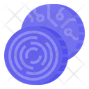 Cryptotoken Token Coins Icon