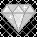 Crystal Diamond Jewel Icon