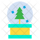 Snow Globe Crystal Ball Snowglobe Icon