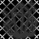 Crystal Diamond Diamonds Icon