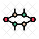 Crystal Cell Structure Icon