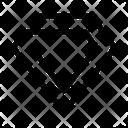 Crystal Gem Diamond Icon