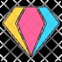 Icon Crystal Abstract Primitive Icon