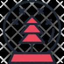 Crystal Ball Christmas Icon