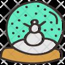 Crystal Ball Snow Icon