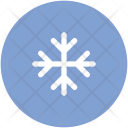 Crystal Flake Snowflake Icon