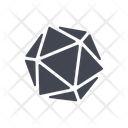 Crystal Abstract Geometry Icon