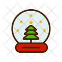 Crystal Ball Snowglobe Snow Globe Icon