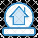 Crystal Ball Home House Icon