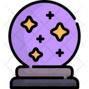 Crystal Ball Magic Ball Magician Icon