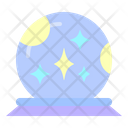 Crystal Ball Future Magic Icon