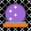 Crystal Ball Magic Ball Wizard Icon