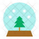 Crystal Ball Christmas Icon