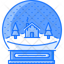 Crystal Ball Snow Ball Icon