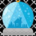 Snow Globes Crystal Icon