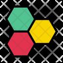Crystal Cell Molecule Icon
