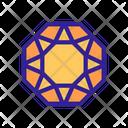 Crystal Diamond Icon