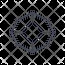 Crystal Geometry Wild Crystal Geometry Icon