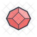 Crystal Geometry Icon