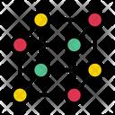 Crystal Lattice Cells Icon