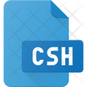 Csh file Icon