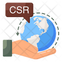Csr Corporate Social Responsibility Corporate Conscience Icon
