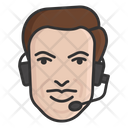 Customer Services Customer Support Call Services Icon