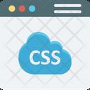 Css Coding Cloud Coding Icon