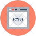 Css Programming Concept Php Icon