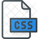 Css File Extension Icon