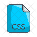 Css Code File Icon