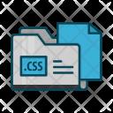Css Directory Document Icon