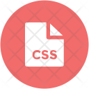 Css File Format Icon