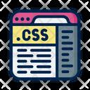 Css Code Coding Css Icon