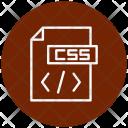 Css Development Coding Icon