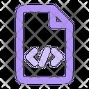 Code Css Document Icon
