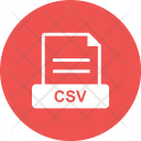 Csv File Extension Icon