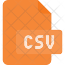 Csv Extension File Icon