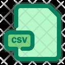 File Csv Format Icon