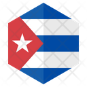 Flag Hexagon Hexagon Flag Icon