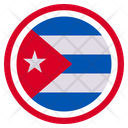 Cuba Country National Icon