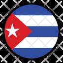 Cuba Globe Nation Icon
