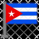 Flag Country Cuba Icon
