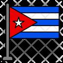 Cuba Country Flag Flag Icon