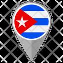 Cuba Country Location Location Icon