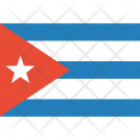 Cuba Flag World Icon